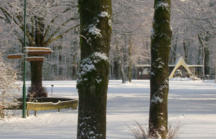 winter op camping Warnsborn